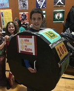 Price is Right Spin Wheel Homemade Costume