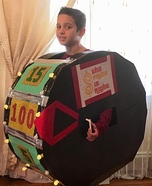 Price is Right Wheel Homemade Costume