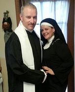 Priest and Nun Couples Halloween Costume