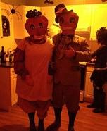 Primitive Pumkinheads Couples Costume
