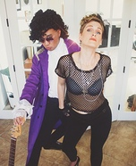 Prince and Madonna Homemade Costume