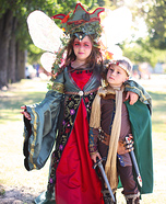 Prince Arthur and Morgan le Fay Homemade Costume