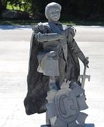 Prince Eric Statue Homemade Costume