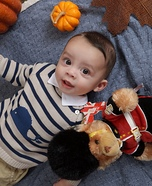 Prince George Baby Homemade Costume
