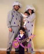 Prince, Purple Rain & When Doves Cry Homemade Costume