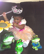 Princess & Her Frogs Costume