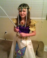 Halloween costume ideas for girls: DIY Princess Zelda Costume