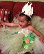 Princess and the Frog Homemade Costume