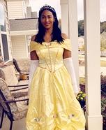 Princess Belle Homemade Costume