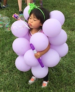 Princess Grape Homemade Costume