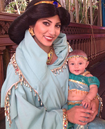 Baby Princess Jasmine Costume