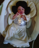 Princess Leia Baby Homemade Costume