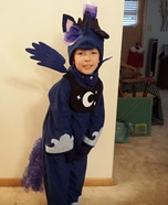 Princess Luna Homemade Costume