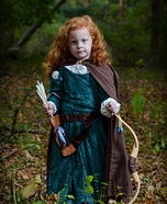 Princess Merida Homemade Costume