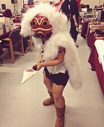 Princess Mononoke Homemade Costume
