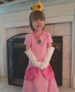 Princess Peach Homemade Costume