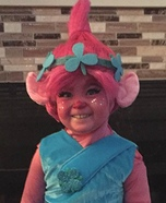Princess Poppy Homemade Costume