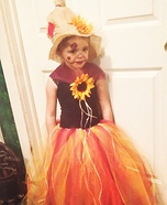 Princess Scarecrow Homemade Costume
