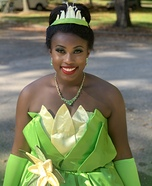 Princess Tiana Homemade Costume