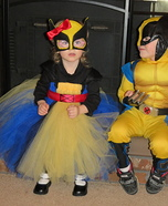 Princess Wolverine Homemade Costume