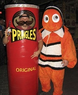 Pringles Can Homemade Costume