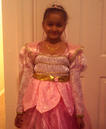 Princess Halloween Costume for Girls