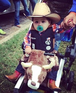 Professional Bull Rider Homemade Costume