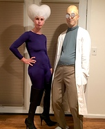 Professor Farnsworth and Mom Homemade Costume