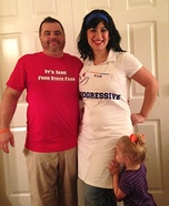 Progressive Flo & Jake from State Farm Homemade Costume