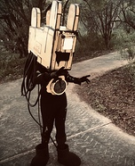 Projectionist from Bendy and the Ink Machine Homemade Costume