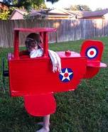 Proud Pilot Homemade Costume