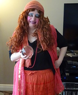 Psychic Medium Fortune Teller Homemade Costume