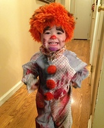 Psycho Clown Homemade Costume