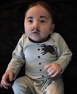 Pubert Addams Homemade Costume