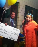 Publishers Clearing House & Winner Homemade Costume