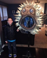 DIY Puffer Fish Costume