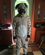 Pug Homemade Costume