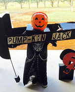 Pump-kin Jack Homemade Costume