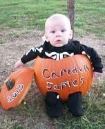 Pumpkin Baby Halloween Costume