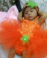 Pumpkin Baby Halloween Costume