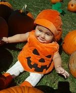 Cute Pumpkin Baby Costume