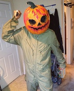 Pumpkin Head Costume