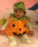 Pumpkin Munchkin Baby Costume
