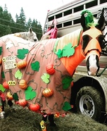 Pumpkin Patch Horse Homemade Costume