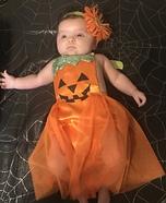 Pumpkin Princess Homemade Costume