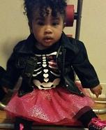 Punk Rock Baby Homemade Costume