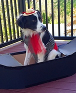 Pup Gondolier Homemade Costume