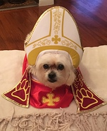 Pup Pope Costume
