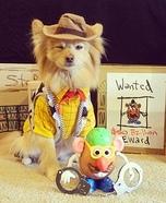 Pup Story Homemade Costume