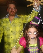 Puppet Master and Marionette Homemade Costume